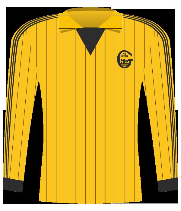 Koszulka GKS Katowice z 1986 roku.