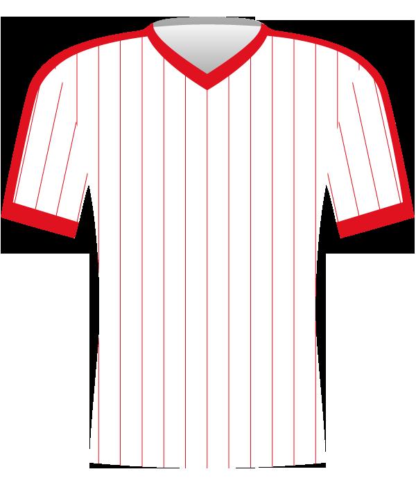 Koszulka Górnika Zabrze z 1986 roku.