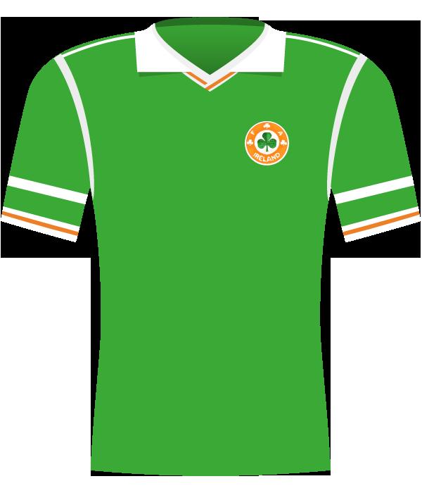Koszulka Irlandii z 1988 roku.