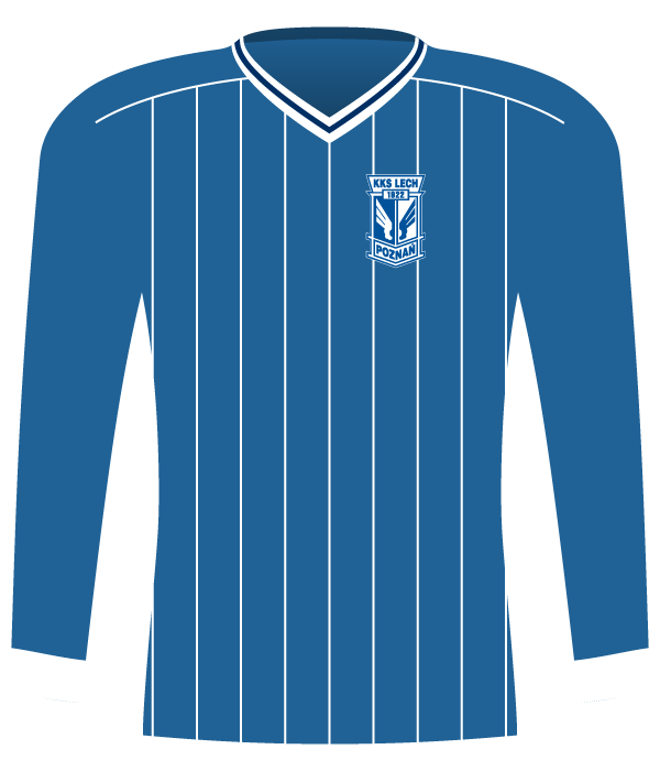 Koszulka Lech Poznań z 1988 roku.