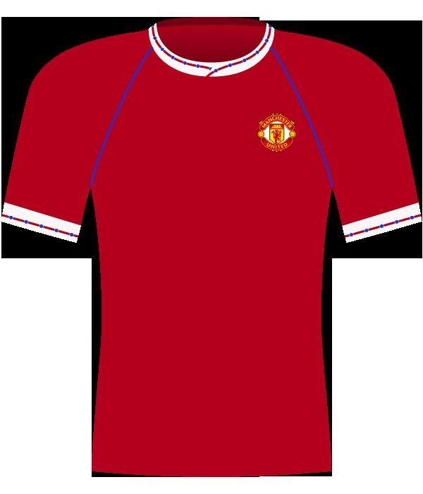 Koszulka Manchester United z 1991 roku.