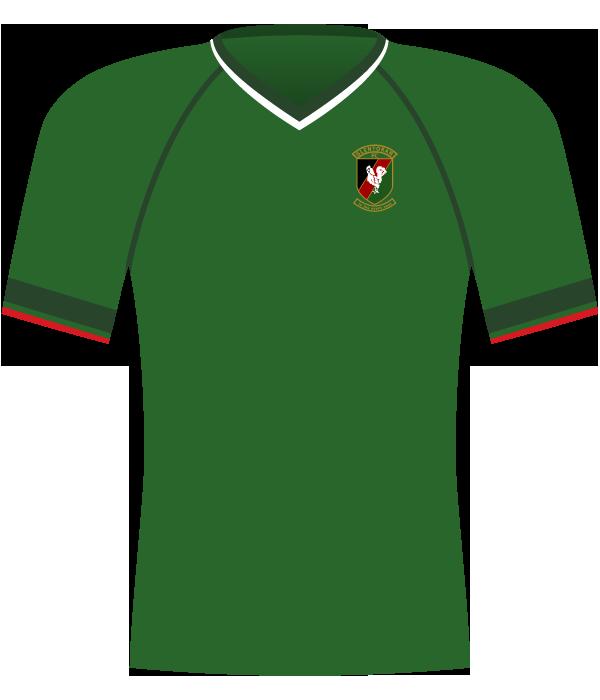 Koszulka Glentoran Belfast z 2002 roku.