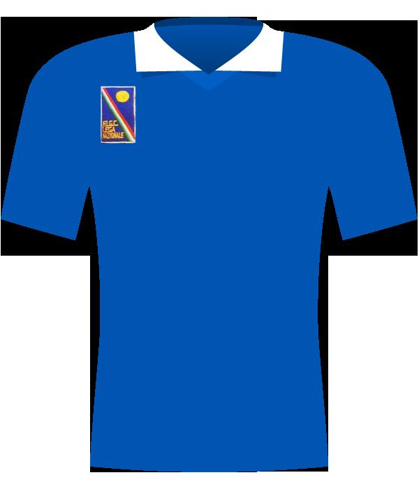 Koszulka Liga włoska z 1988 roku.