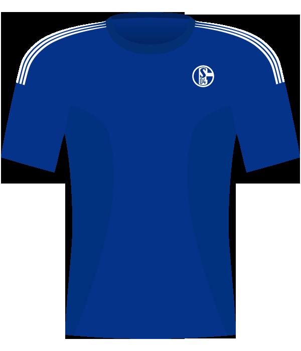 Koszulka Schalke Gelsenkirchen z 2002 roku.