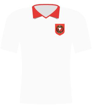 Koszulka Widzew Łódź z 1984.