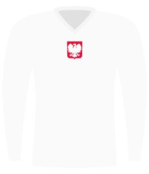 Koszulka Polski z 1963 roku