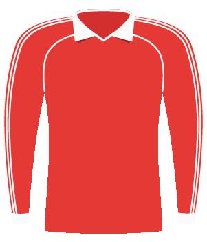 Koszulka Widzew Łódź (1984).