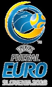 Logo Euro 2018 futsal