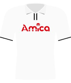 Koszulka Amica Wronki (2002).