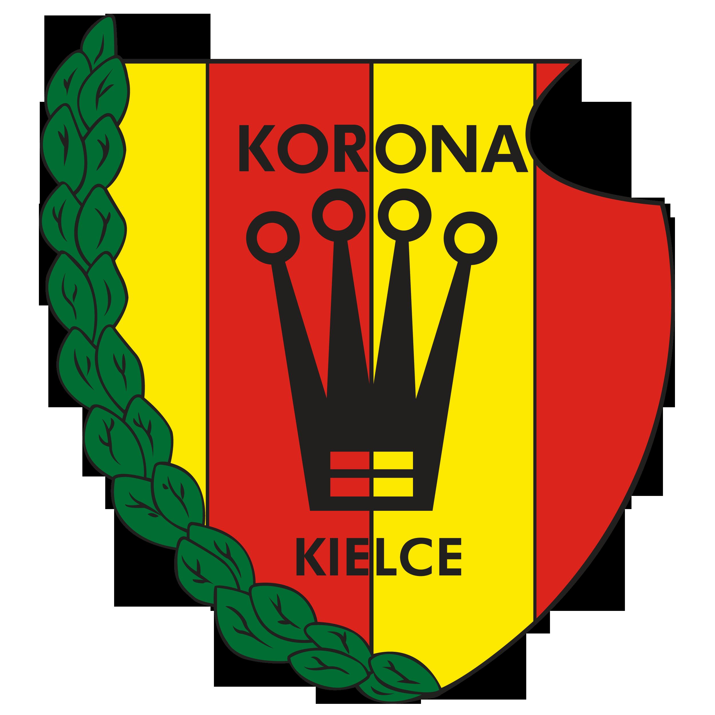 Herb Korona Kielce (od 2008 roku).
