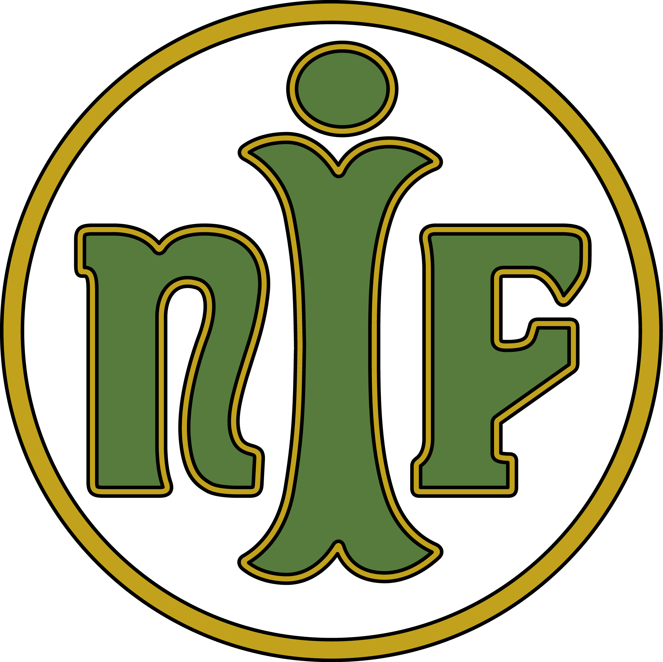 Herb Næstved IF (lata 60-70).