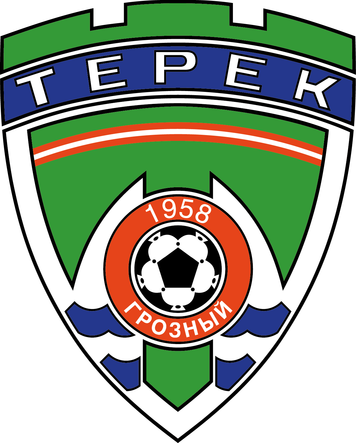 Terek Grozny herb 2004