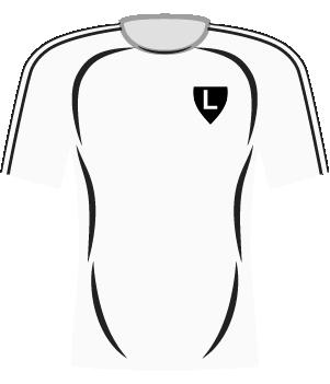 Koszulka Legia Warszawa (2008).