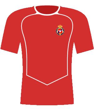 Koszulka Wisła Kraków (2004).
