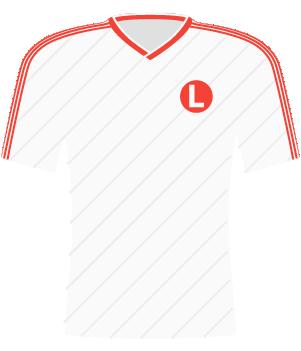 Koszulka Legia Warszawa (1988).