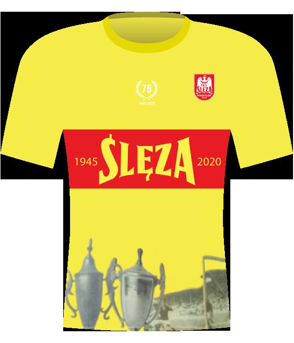 Koszulka Ślęza Wrocław (2020-2021).