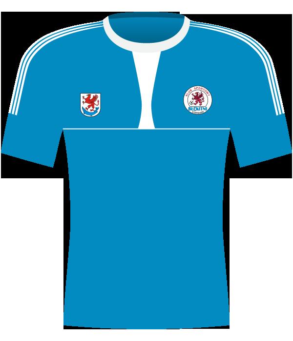 Koszulka Błękitni Stargard Szczeciński (2014-2015)