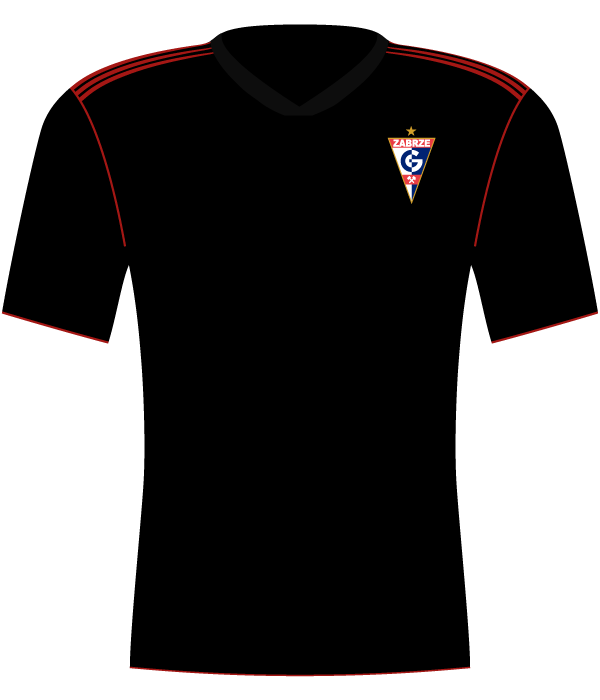 Koszulka Górnik Zabrze (2014-2015).
