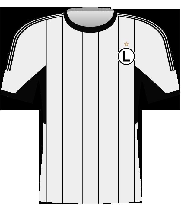 Koszulka Legia Warszawa (2014-2015).