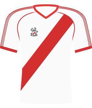 Koszulka River Plate (1986).