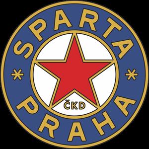 HERB SPARTA PRAGA LATA 70 i 80