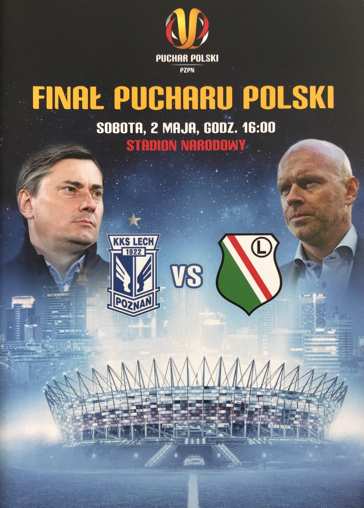 Program meczowy Lech Poznań - Legia Warszawa 1:2 (02.05.2015).