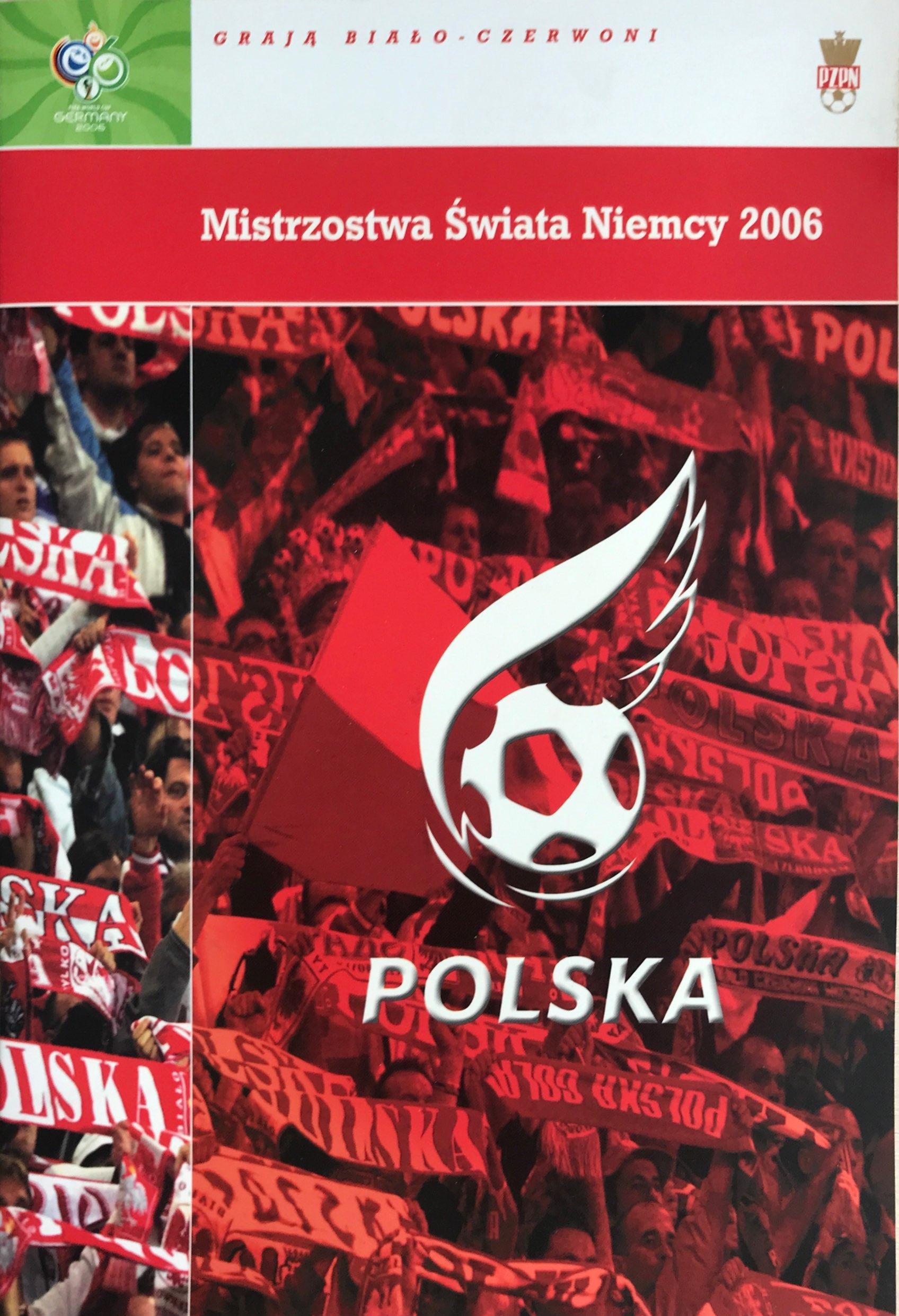 Program meczowy na mistrzostwa świata 2006.