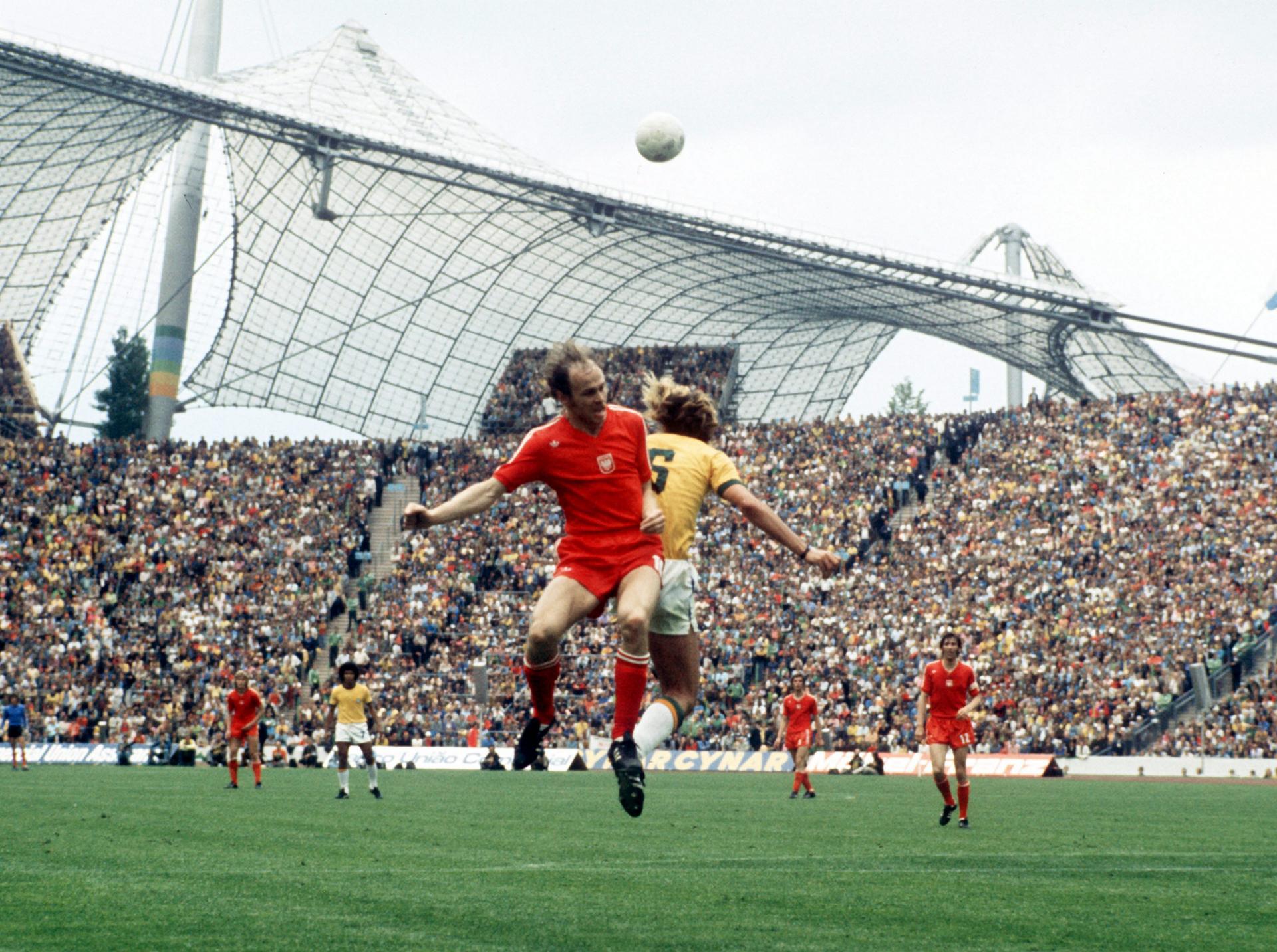 Polska - Brazylia 1:0, 06.07.1974