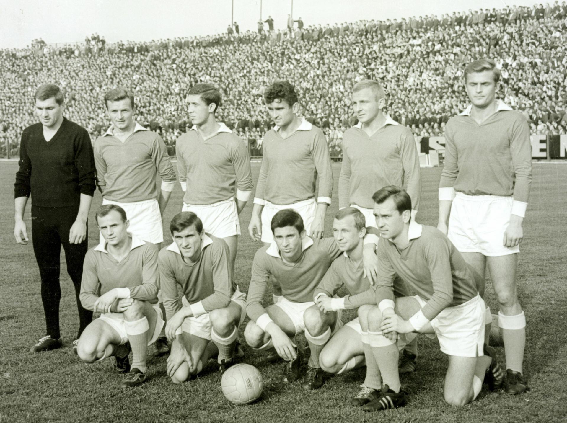 ŁKS - 1966 - z Deyna w składzie (jedyny mecz)