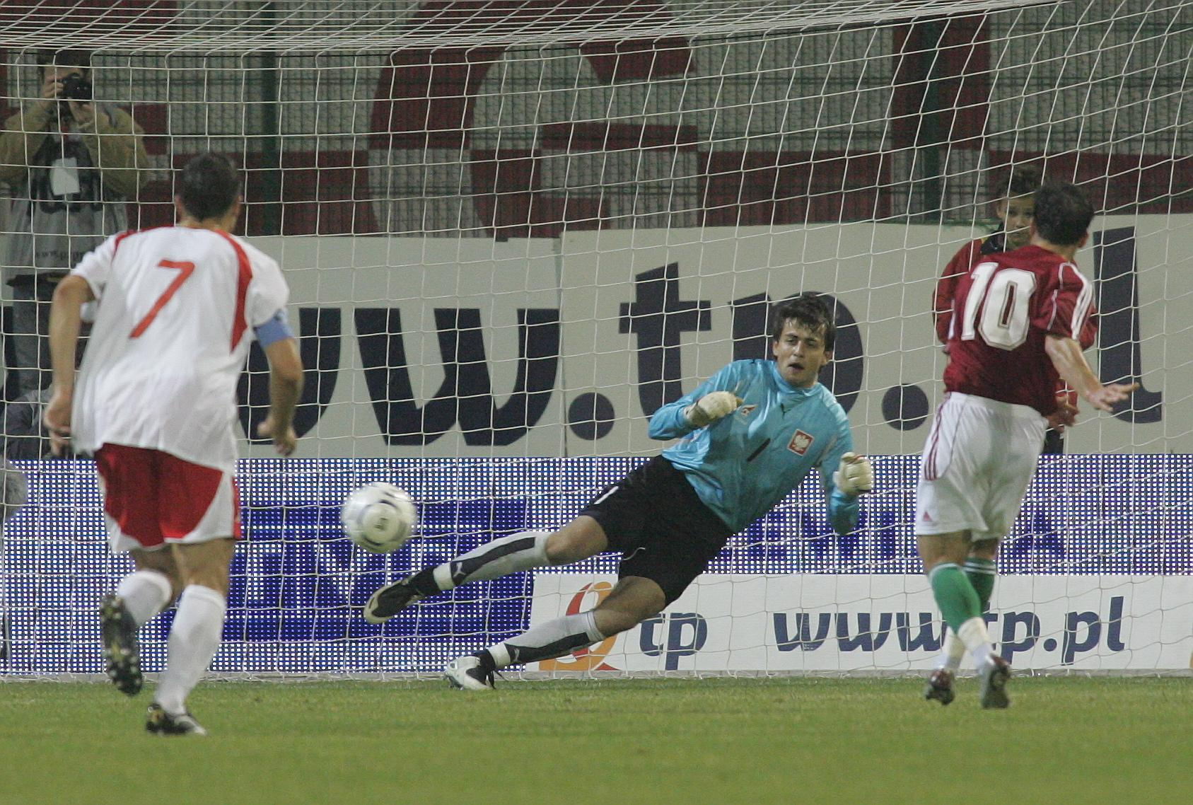 Polska - Węgry (17.10.2007)