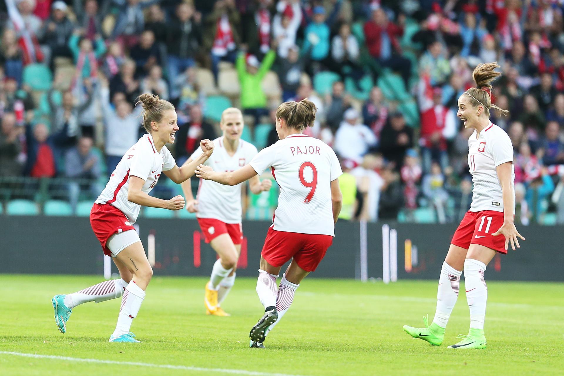 Polska - Białoruś 4:1 kobiet (15.09.2017)