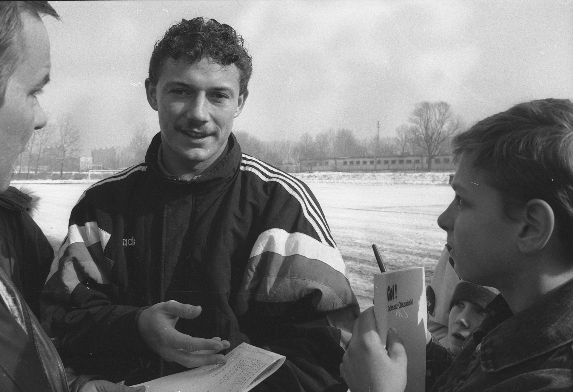 Wojciech Kowalczyk z 1993 roku.
