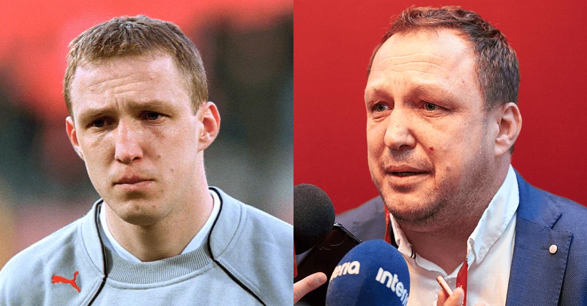 Paweł Kryszałowicz z 2001 i 2019 roku.