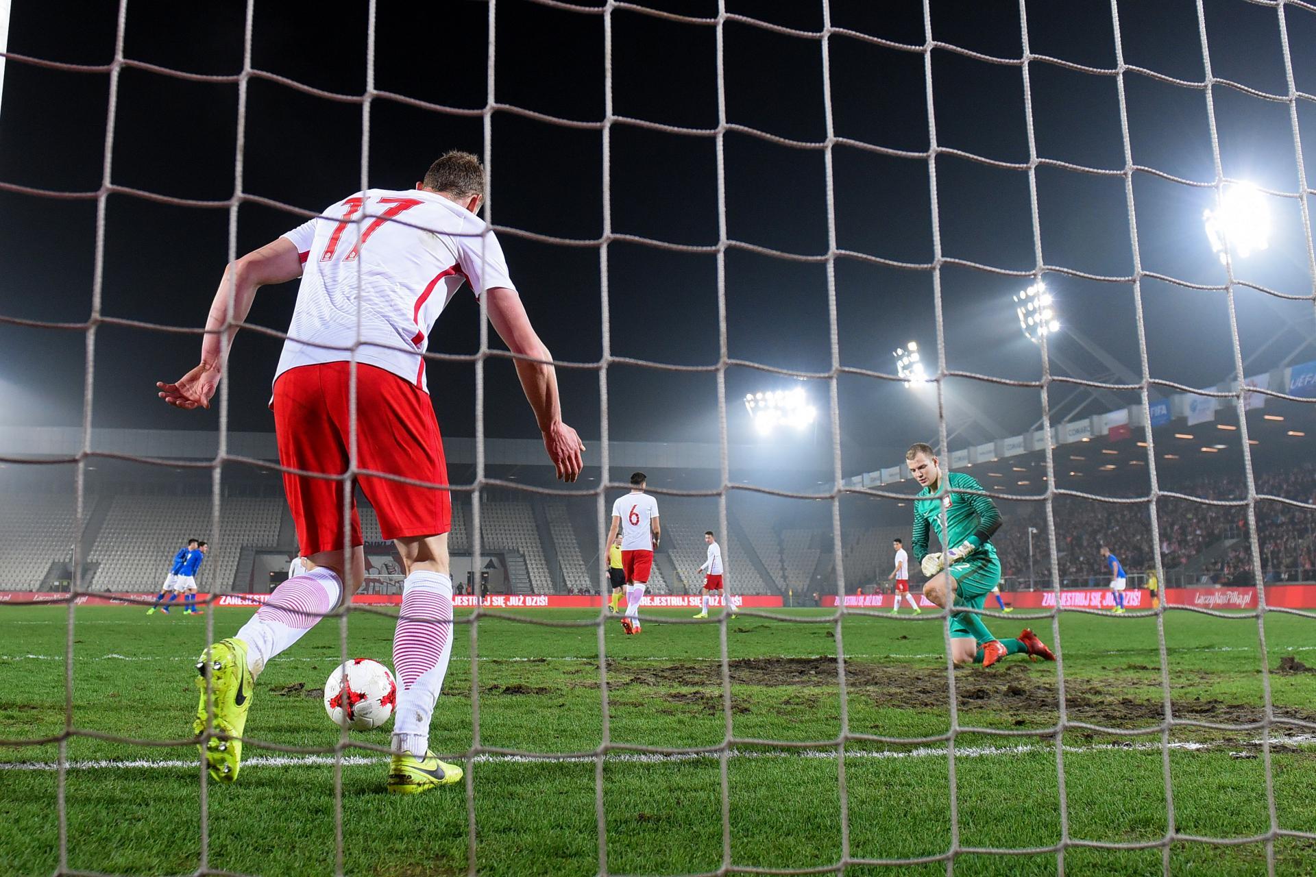 Zdjęcie z meczu Polska - Włochy 1:2 U21 (23.03.2017)
