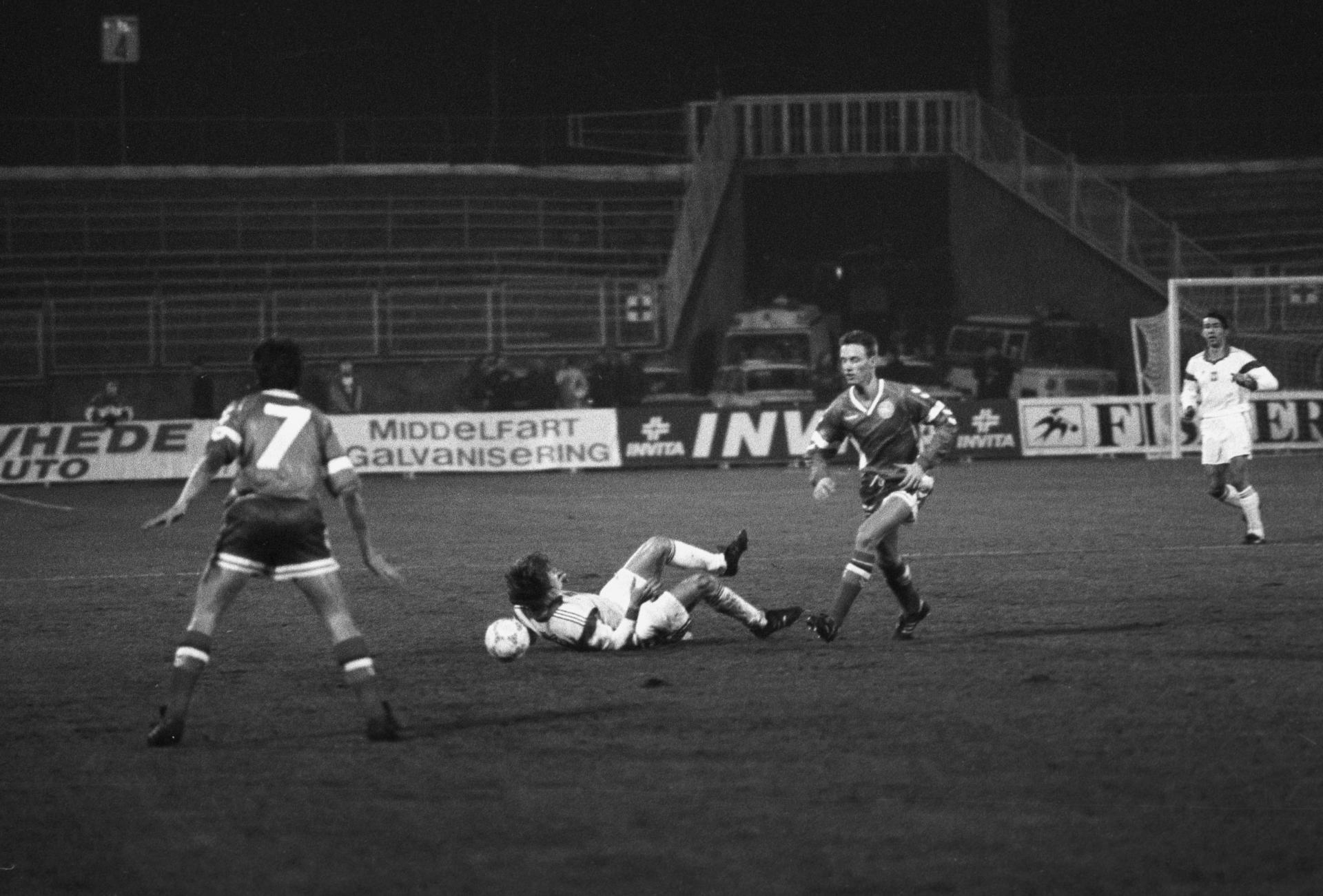 Polska U21 - Dania U21 1:1 (25.03.1992)