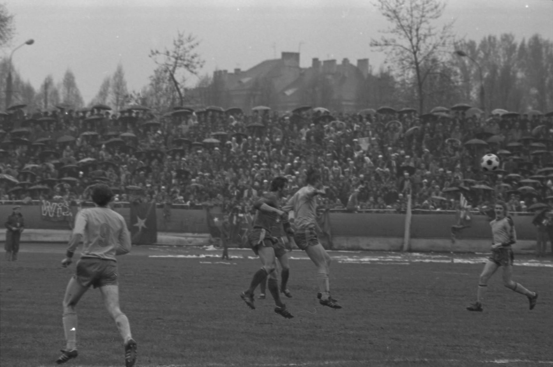 Finałowy mecz Pucharu Polski Arka Gdynia - Wisła Kraków z 1979 roku