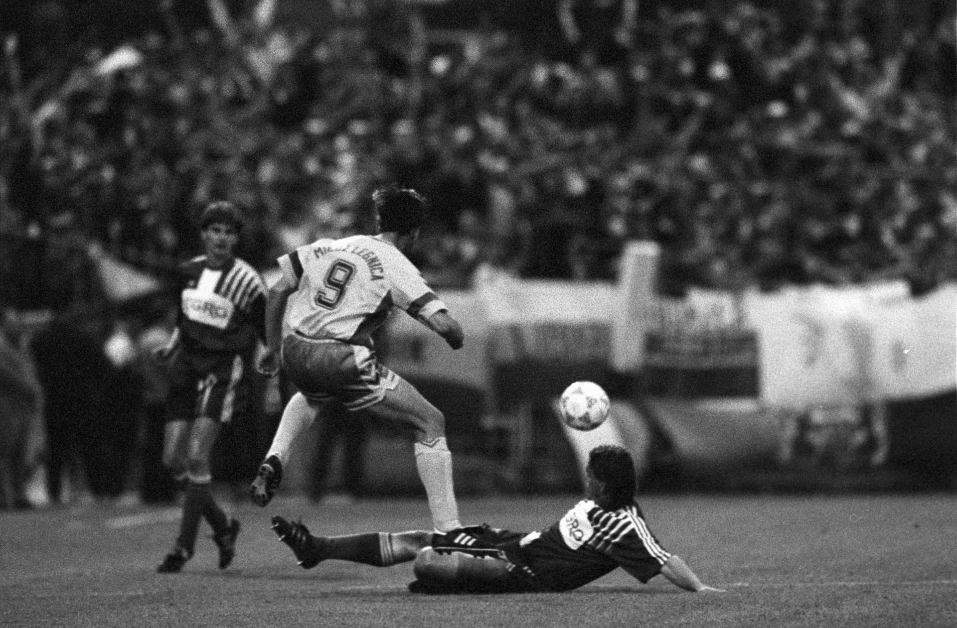 Finał Pucharu Polski 1991/92, Górnik Zabrze - Miedź Legnica 1:1.