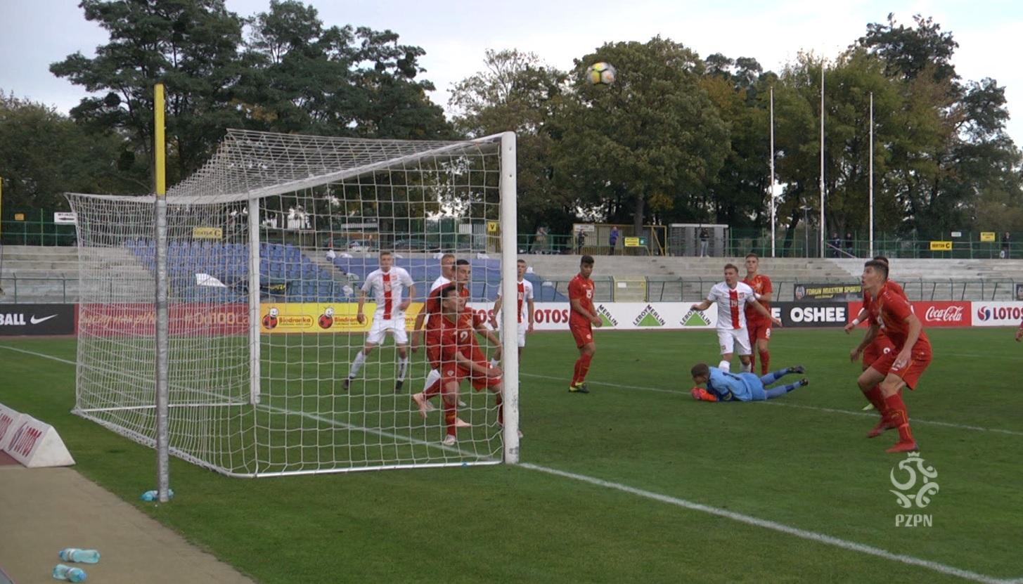 Zdjęcie z meczu Macedonia Północna - Polska 2:3 U-17 (09.10.2019).