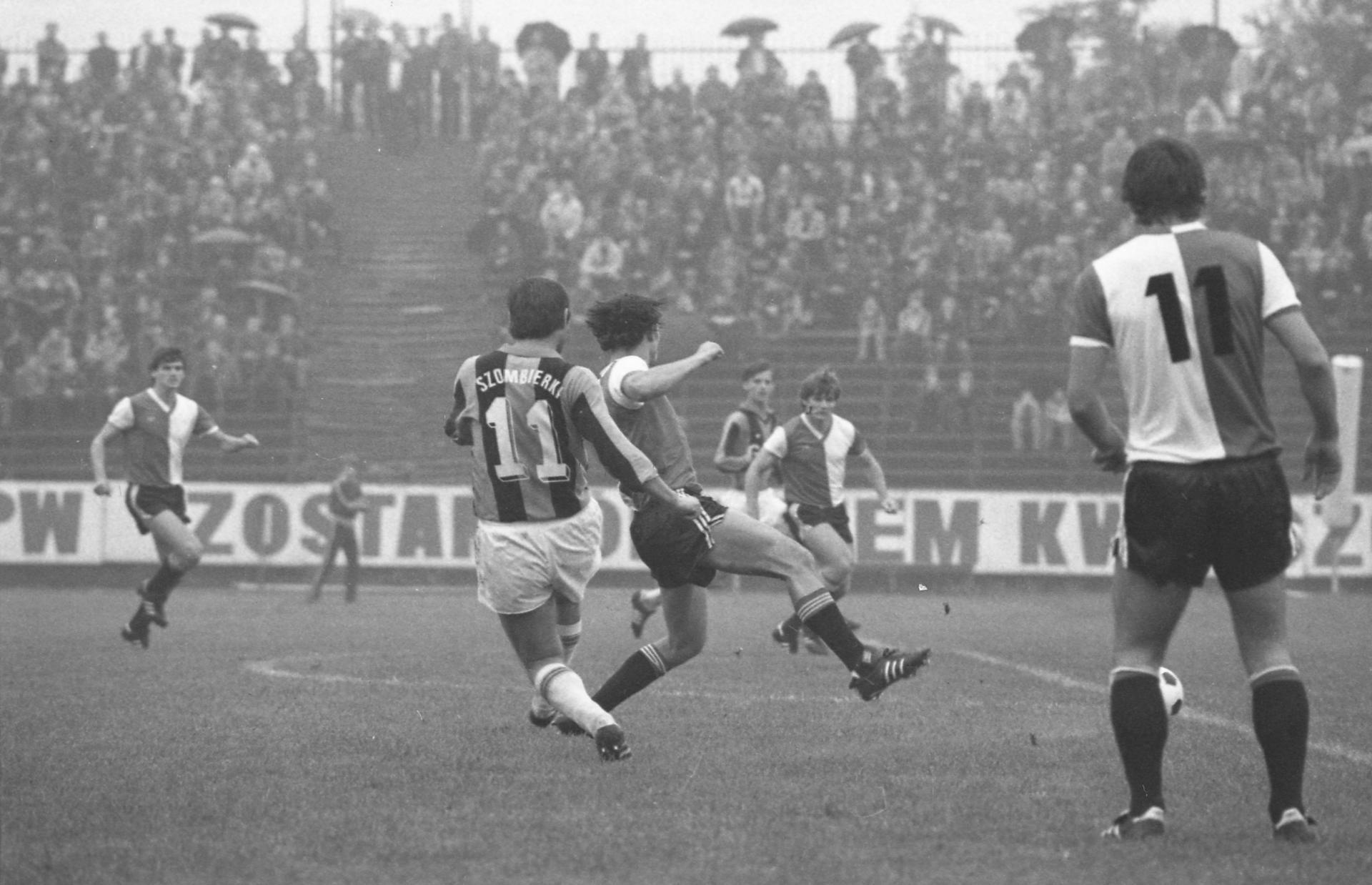 Szombierki Bytom - Feyenoord Rotterdam 1:1 (30.09.1981)