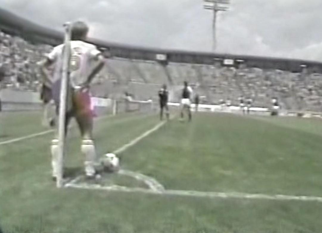 Kadr z meczu Polska – USA 2:0 U20 (08.06.1983)