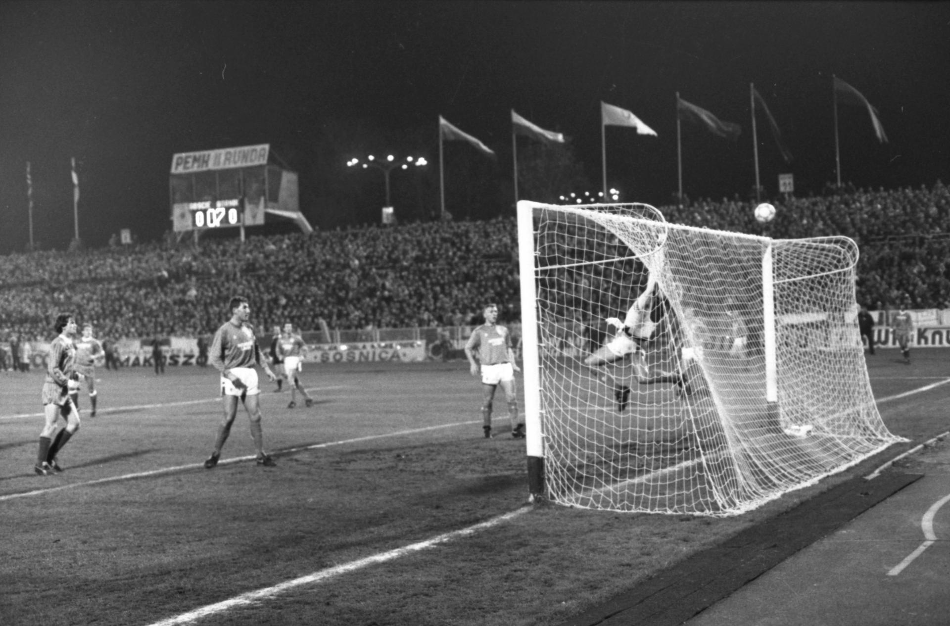 Górnik Zabrze - Rangers FC 1:1 (04.11.1987)