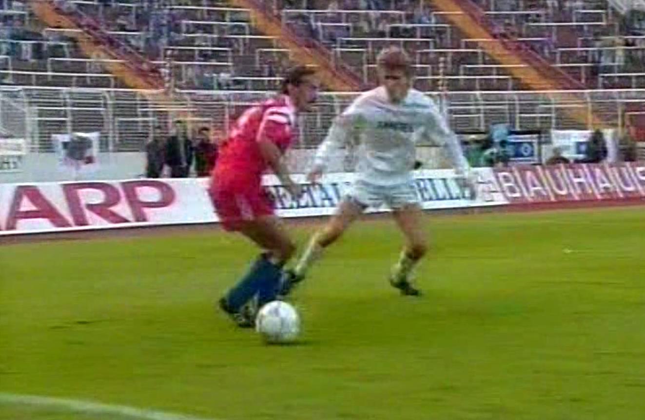 Hamburger SV - Górnik Zabrze 1:1 (17.09.1991)