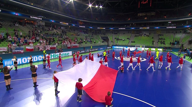 Rosja – Polska 1:1 (30.01.2018) futsal