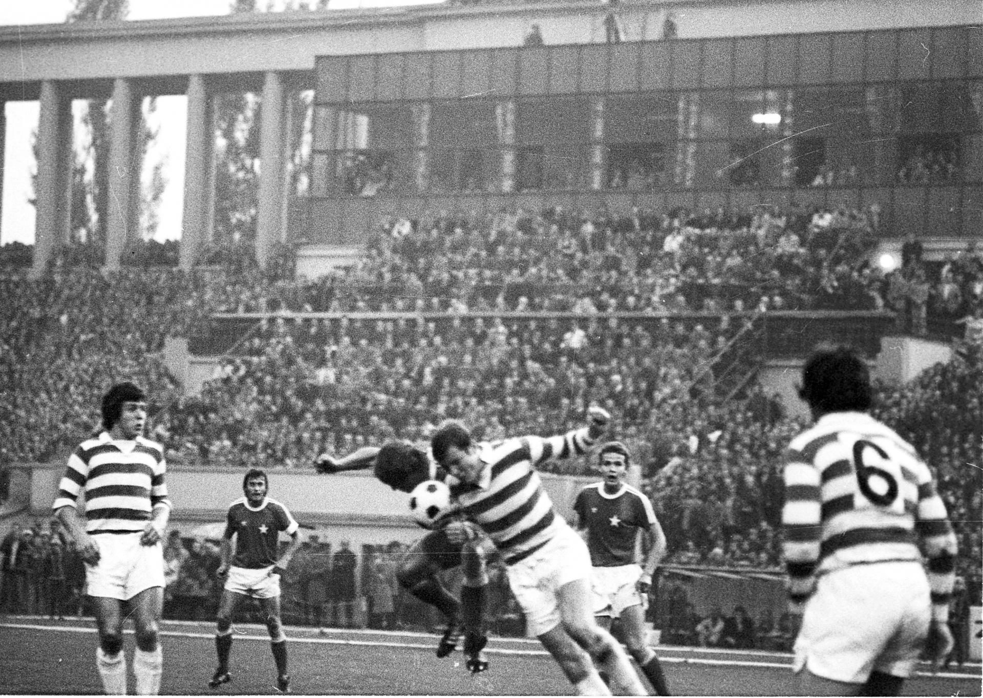 Wisła Kraków - Celtic Glasgow 2:0 (29.09.1976).