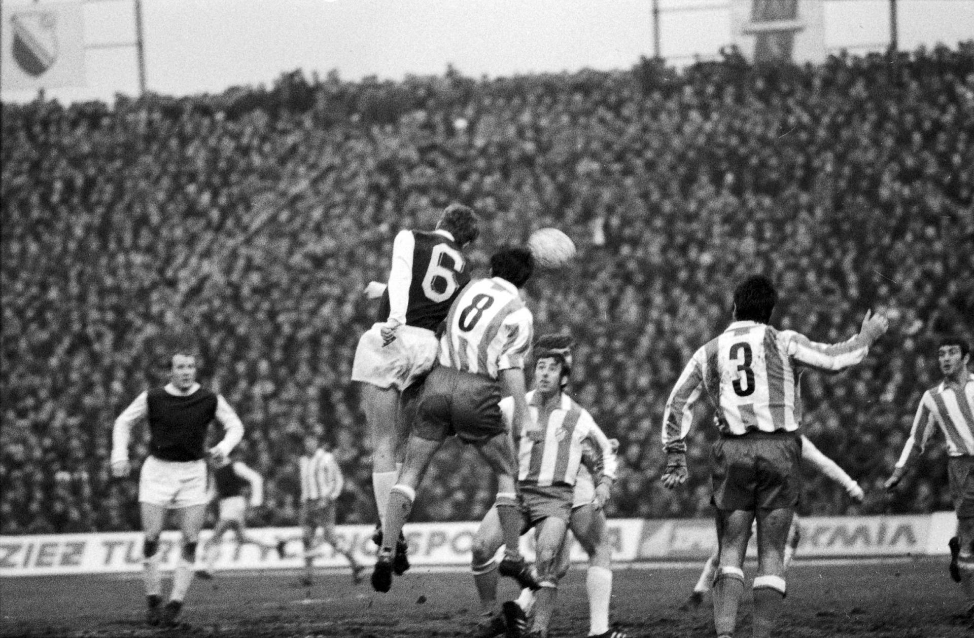 Atlético Madryt - Legia Warszawa 1:0 (10.03.1971)