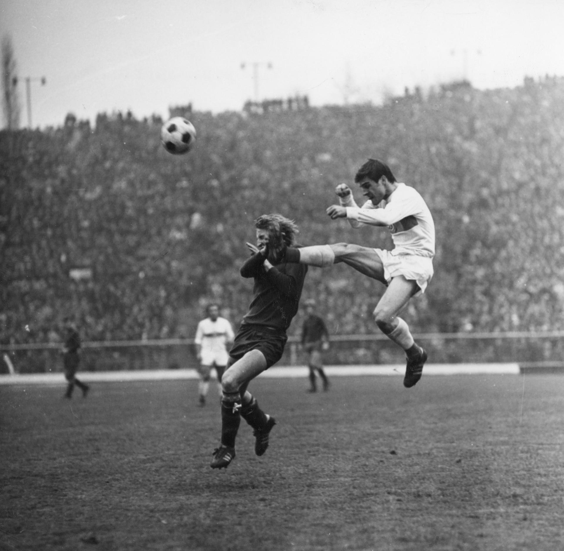 Górnik Zabrze - Dynamo Kijów 2:1 (08.11.1972)