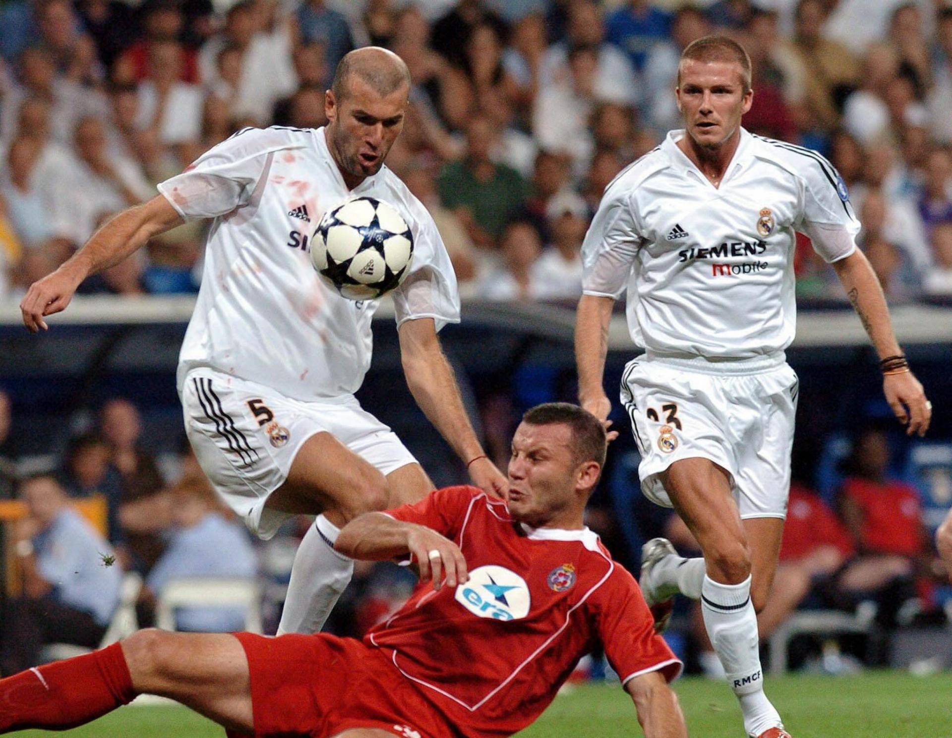 Real Madryt - Wisła Kraków 3:1 (25.08.2004)