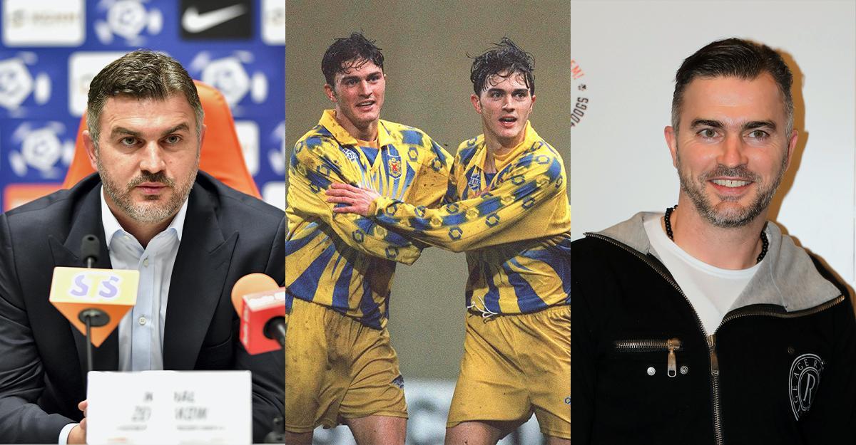 Michał i Marcin Żewłakow 1998/2019