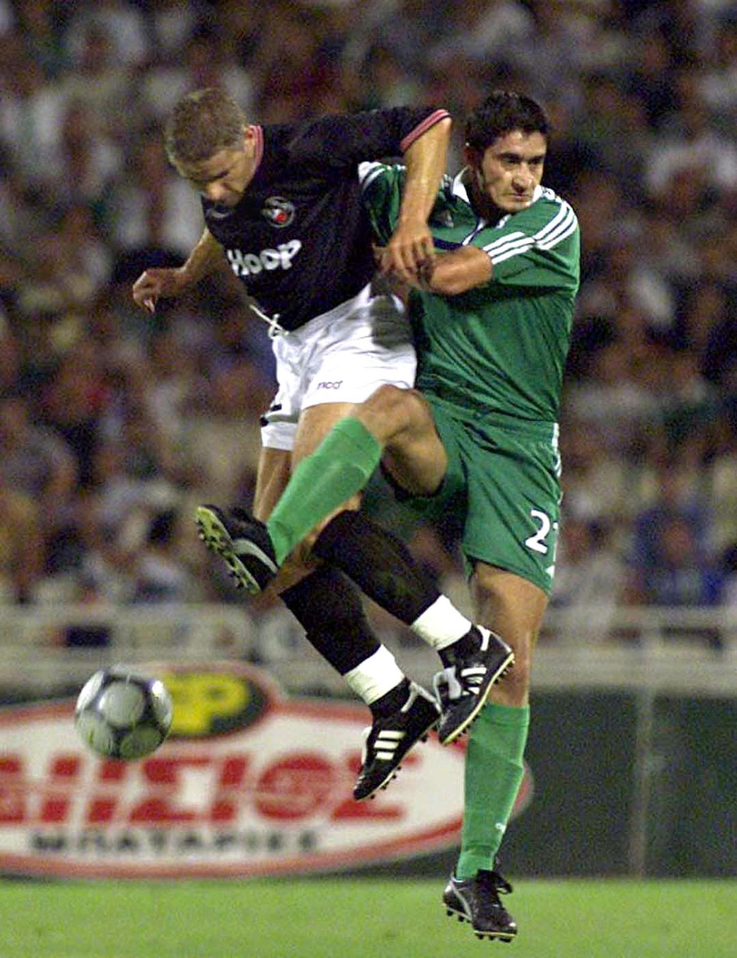 Panathinaikos Ateny - Polonia Warszawa 2:1 (23.08.2000)
