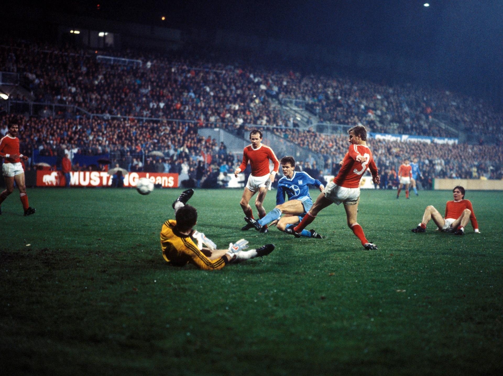 Bayer 05 Uerdingen - Widzew Łódź 2:0 (05.11.1986) Henryk Bolesta